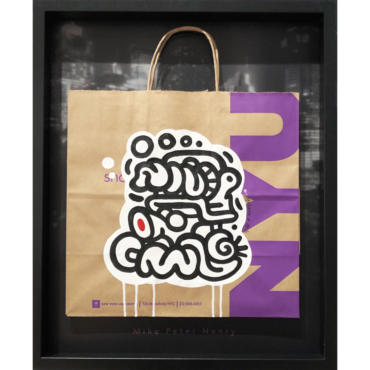 New York Art Bag 11