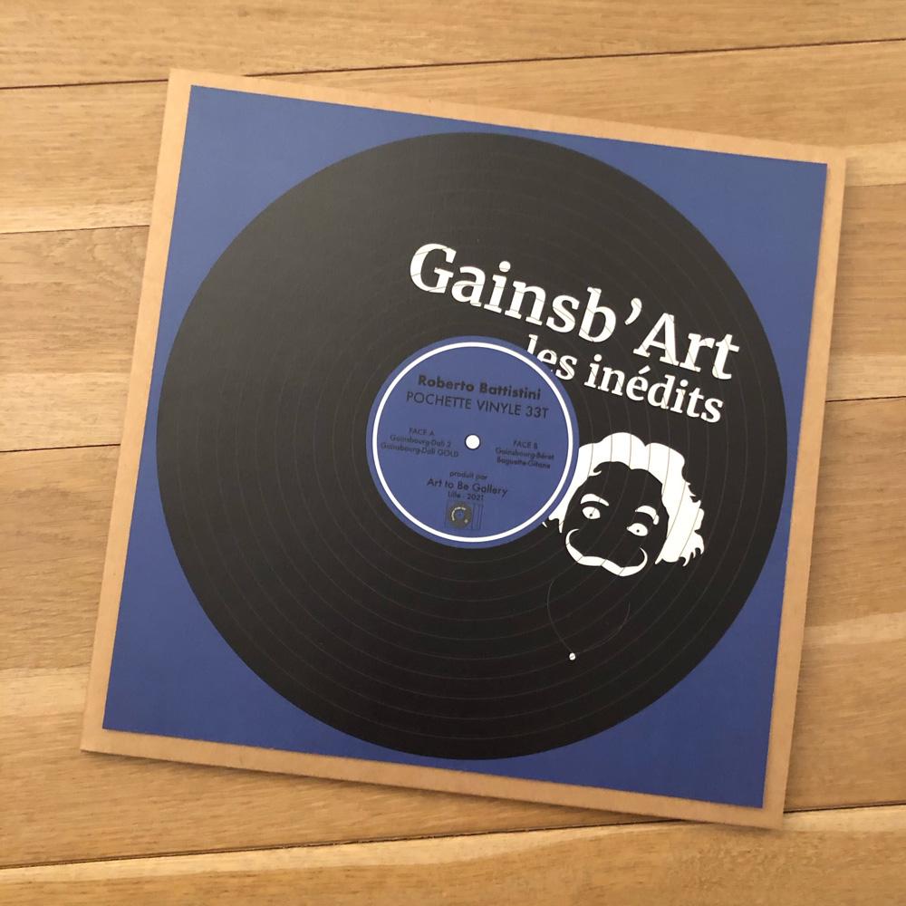 33T - Gainsb'Art les inédits