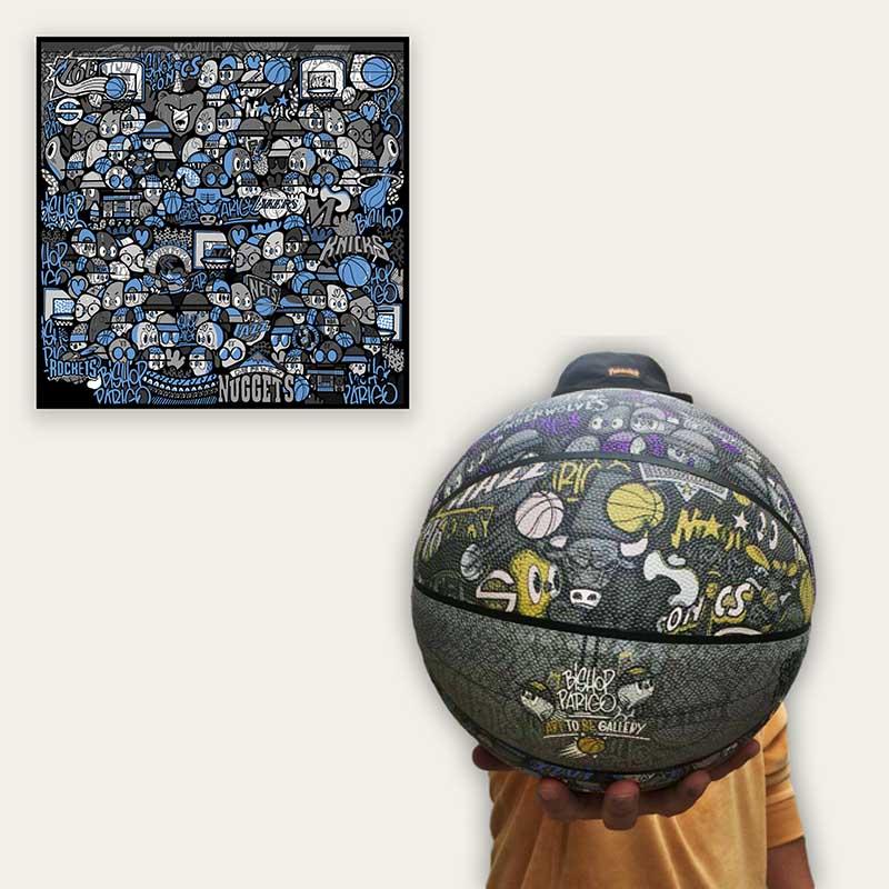 I Love Basket (Blue Pack)